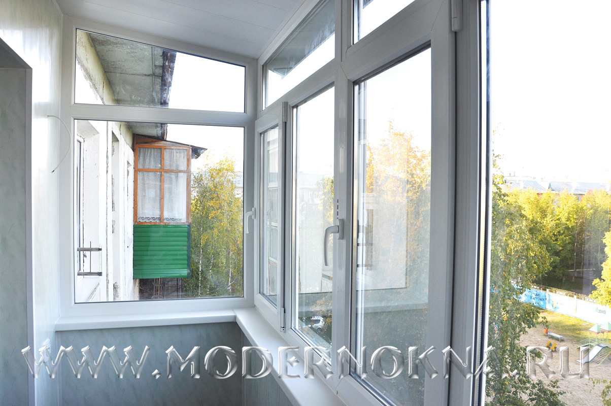 Фотогалерея отделки балконов и лоджий.